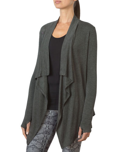 Mpg Wisdom Oversized Cardigan-GREY-Small 88522058_GREY_Small