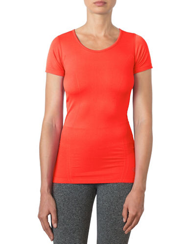 Mpg Link Seamless Tee-CORAL-Small/Medium 88522037_CORAL_Small/Medium