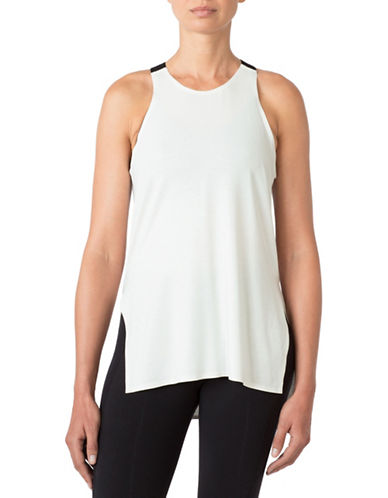 Mpg Surge Split-Side Tank Top-WHITE-X-Small 88522042_WHITE_X-Small