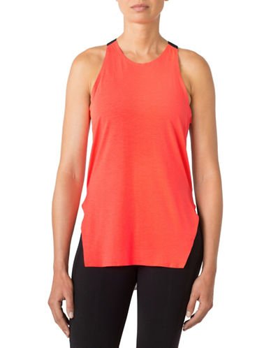 Mpg Surge Split-Side Tank Top-CORAL-Medium 88522049_CORAL_Medium