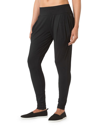 Mpg Elastomer Pleated Pants-BLACK-Medium 88570537_BLACK_Medium