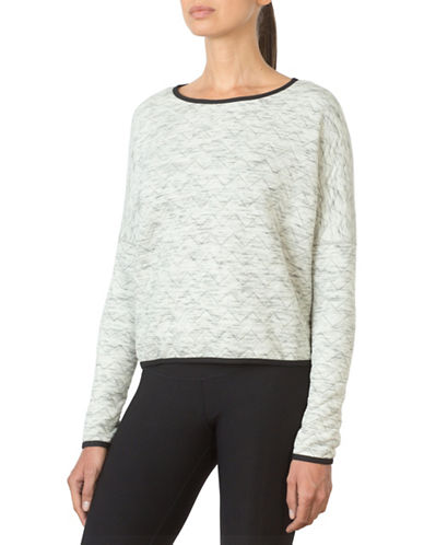 Mpg Julianne Hough Curated Zine Crop Cover Up Sweatshirt-GREY-Small 88676975_GREY_Small