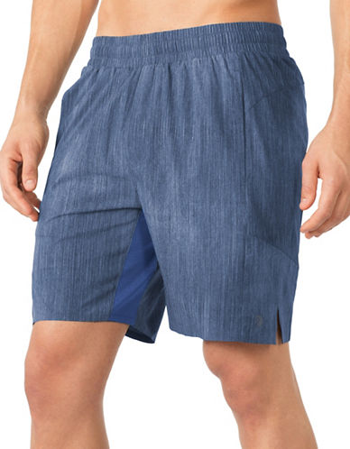 Mpg Hype 3.0 Printed Shorts-BLUE-Small