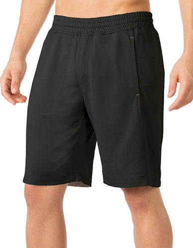 Mpg Actile Solid Shorts-BLACK-Medium