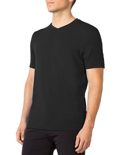 Mpg Tower V-Neck T-Shirt-BLACK-Medium