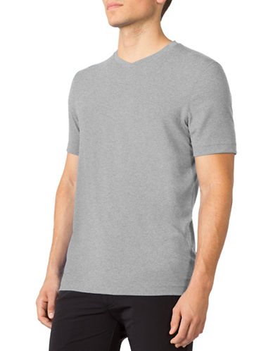 Mpg Tower V-Neck T-Shirt-GREY-Large 88559661_GREY_Large