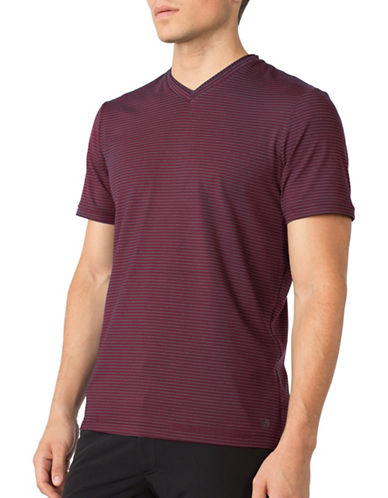 Mpg Expedite Double Collar T-Shirt-MAROON-XX-Large 88983134_MAROON_XX-Large