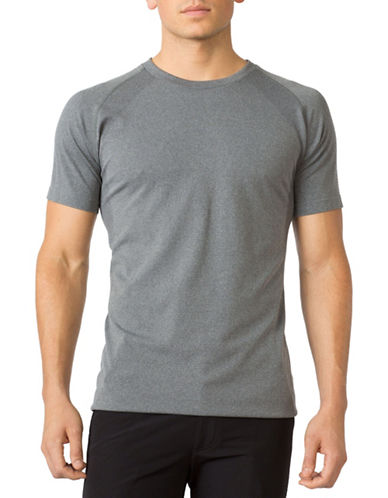 Mpg Seamless Uplift T-Shirt-GREY-Large/X-Large