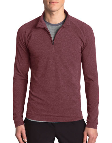 Mpg Form Seamless Long Sleeve Sweatshirt-MAROON-Large/X-Large 88983124_MAROON_Large/X-Large