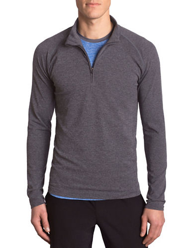 Mpg Form Seamless Long Sleeve Sweatshirt-GREY-Large/X-Large