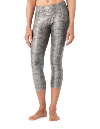 Mpg Dare Printed Capri Leggings-GREY-Small 88676925_GREY_Small