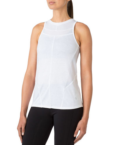 Mpg Promenade Mesh-Trim Tank-WHITE-Medium 88570592_WHITE_Medium