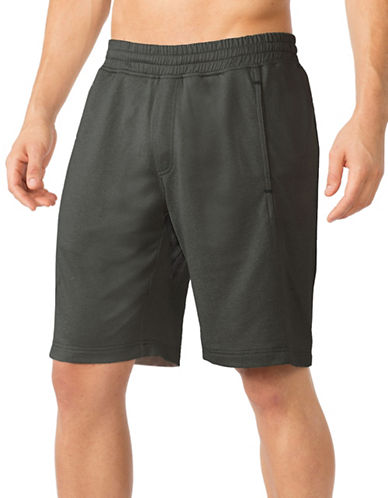 Mpg Actile Solid Shorts-GREY-Medium