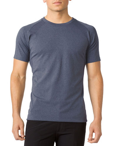Mpg Seamless Uplift T-Shirt-BLUE-Medium/Large