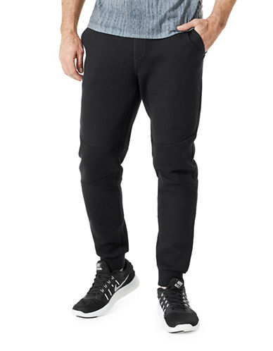 Mpg Trimmed Industry Jogger Pants-BLACK-X-Large