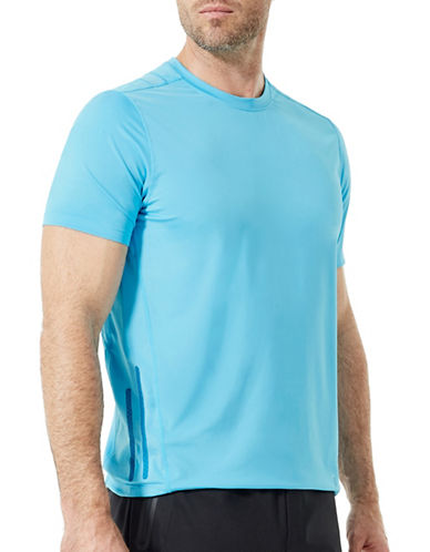 Mpg Nox Running Tee-BLUE-Small