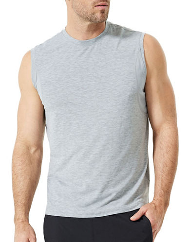 Mpg Solar Knit Tank-GREY-Large