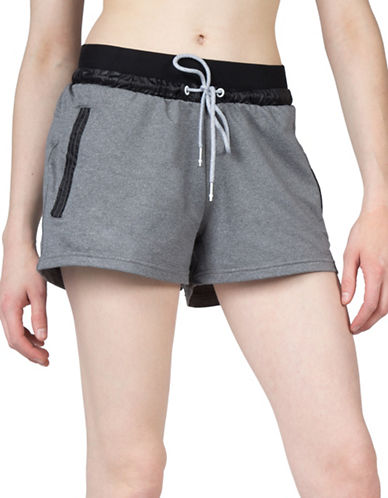 Mpg Lana Multi-Activity Shorts-PLATINUM MELANGE-Large