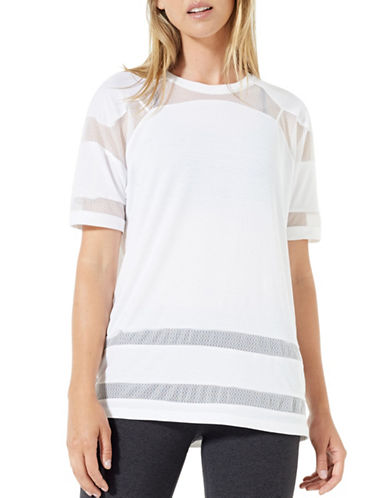 Mpg Pixie Knit Mesh Tee-WHITE-X-Large 89264749_WHITE_X-Large