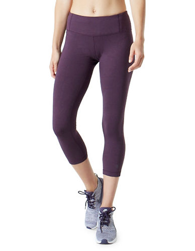 Mpg Dare Capri Leggings-PURPLE-X-Small