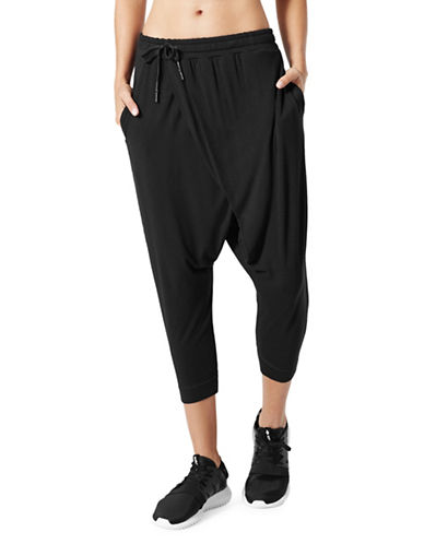 Mpg Om Cropped Pants-BLACK-Large 89649336_BLACK_Large