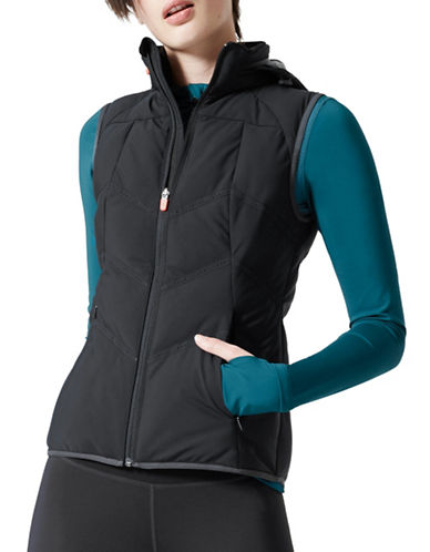 Mpg Infrared Polyfill Vest-BLACK-Medium