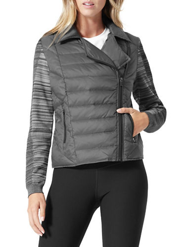 Mpg Asymmetrcial Moto Jacket-GREY-Small 89649364_GREY_Small