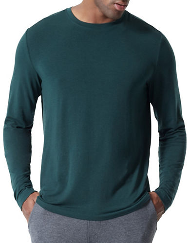 Mpg Defender Cashmere-Blend Shirt-GREEN-X-Large