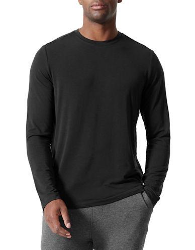 Mpg Defender Cashmere-Blend Shirt-BLACK-Large