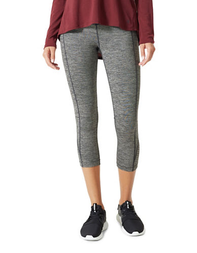 Mpg Meditation Capri Leggings-GREY-Large