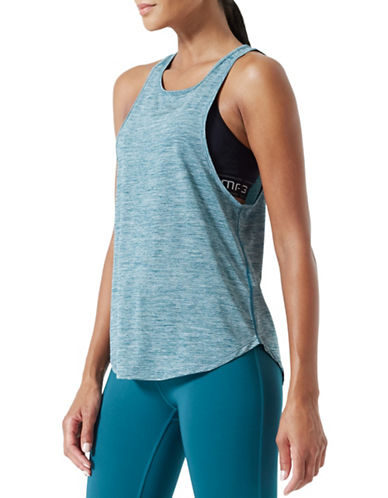 Mpg Heathered Tank Top-JADE-Small