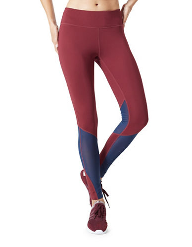Mpg Frosh Colourblocked Leggings-PORT-X-Large