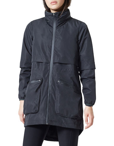 Mpg Cool Rain Jacket-BLACK-Large