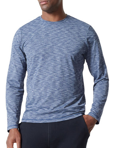 Mpg Immerse 2.0 Long-Sleeve Top-BLUE-Medium
