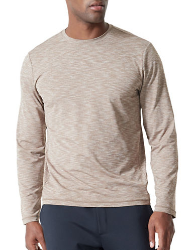 Mpg Immerse 2.0 Long-Sleeve Top-BROWN-Small