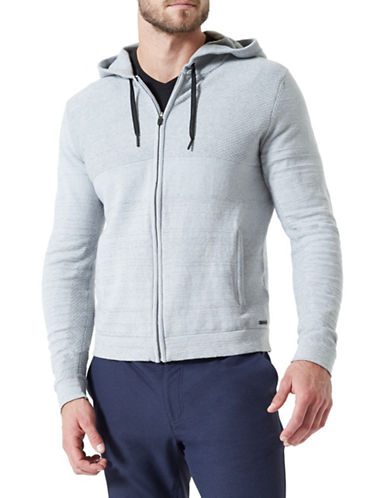 Mpg Freestyle Stretch Fleece Hoodie-GREY-X-Large