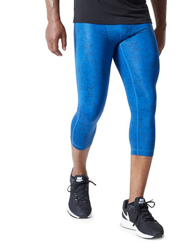 Mpg Bandit 2.0 Camouflage Leggings-BLUE-Medium