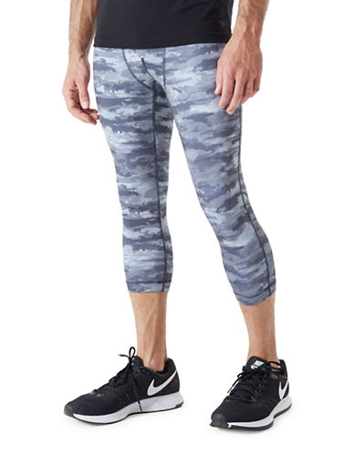 Mpg Bandit 2.0 Camouflage Leggings-GREY-Large