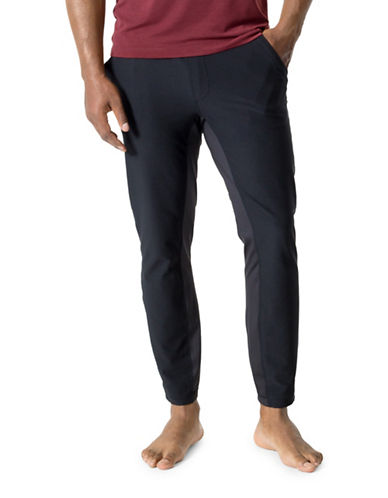 Mpg Crescent Slim-Fit Pants-BLACK-Medium