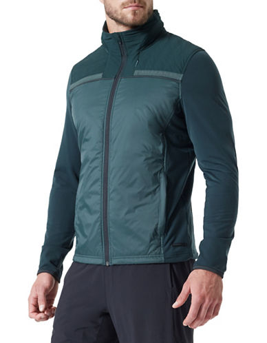 Mpg Long Sleeve Performance Jacket-GREEN-Large