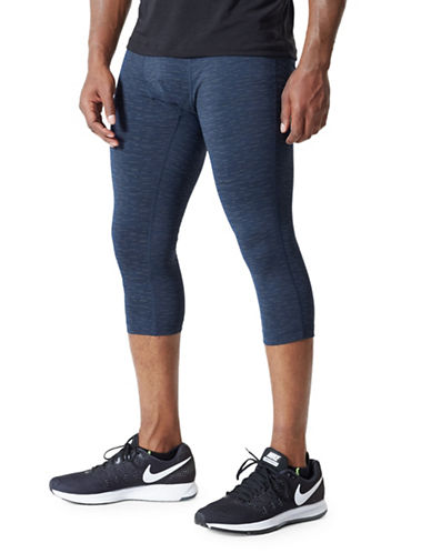 Mpg Bandit Run Tights-BLUE-Large