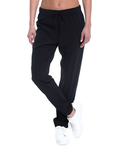 Gaiam Harlow Mid-Rise Harem Pants-BLACK-Small 89368627_BLACK_Small