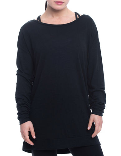 Gaiam Ryder Tunic-BLACK-Small