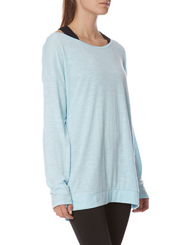 Gaiam Ryder Tunic-LIGHT BLUE-Small