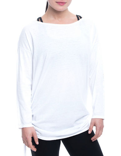 Gaiam Bryn Slouchy Tee-WHITE-Small 89368554_WHITE_Small