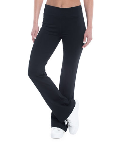 Gaiam Om Yoga Pants-BLACK-Small