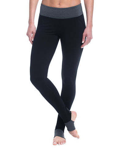 Gaiam Om Panel Barre Mid-Rise Leggings-BLACK-Small 89368611_BLACK_Small