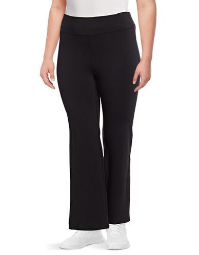 Gaiam Plus Om Yoga Pants-BLACK-1X