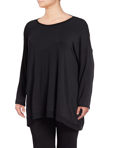 Gaiam Plus Nirvana Tunic-BLACK-2X
