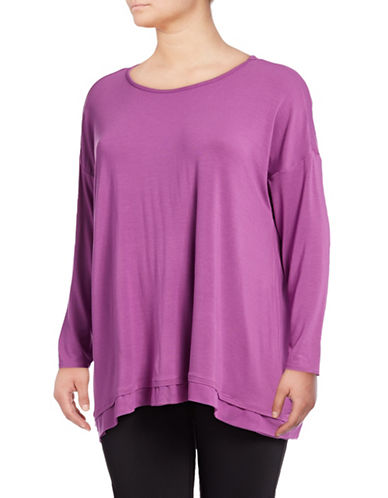 Gaiam Plus Nirvana Tunic-PURPLE-2X